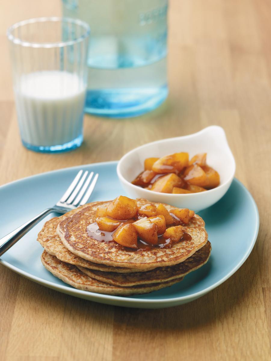 Pancakes alla vaniglia incantati