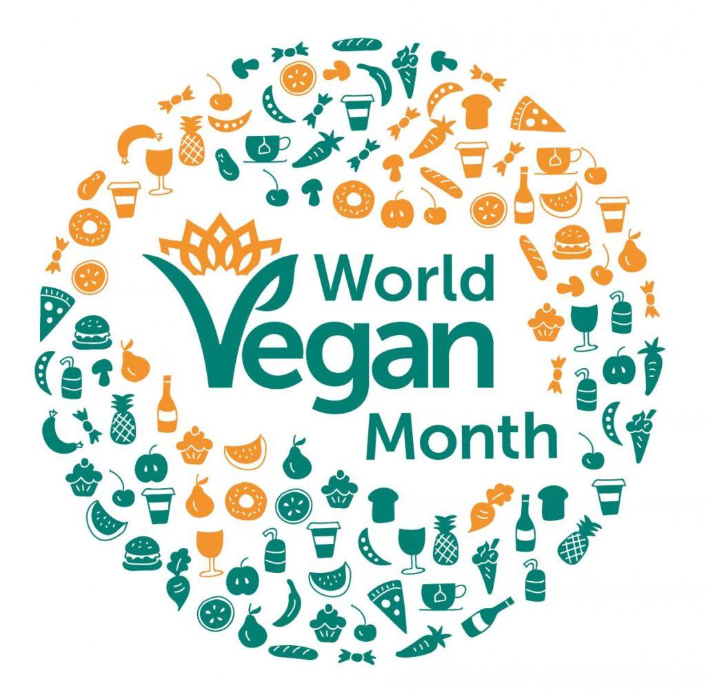 World Vegan Month Logo 2017 hi res 0 1024x1011 - Lo stile di vita vegano conquista cuori e menti in tutta la Gran Bretagna, mostra sondaggi