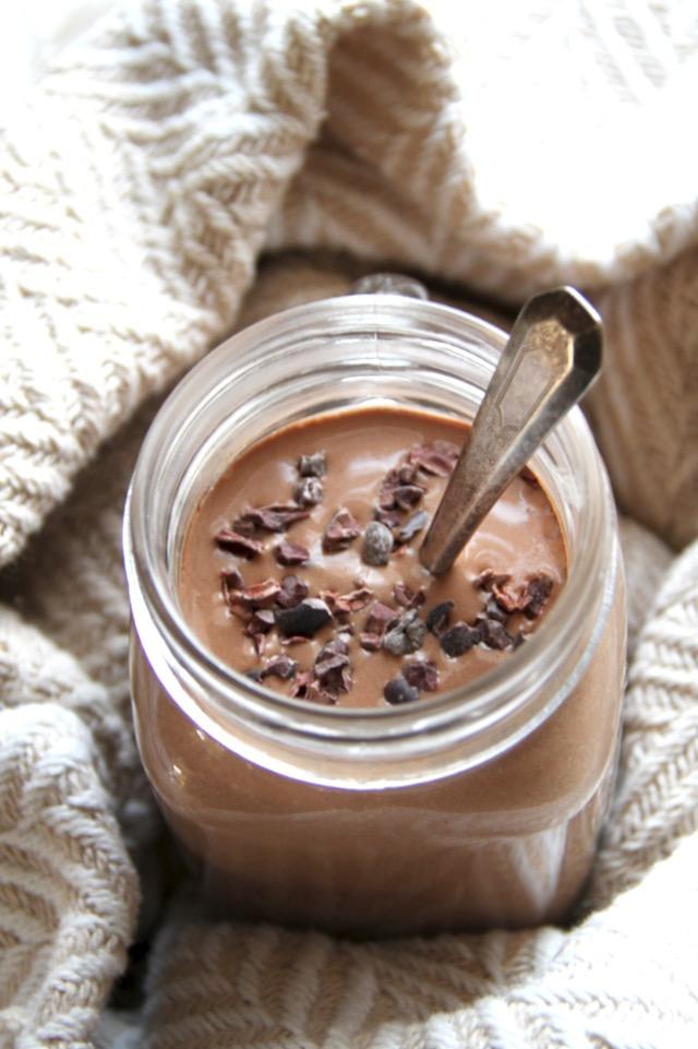 Hot Chocolate Smoothie - Frullato per colazione con cioccolata calda