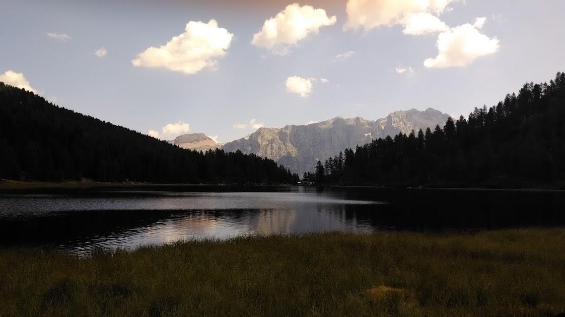 Lago delle Malghette nel Parco Adamello Brenta