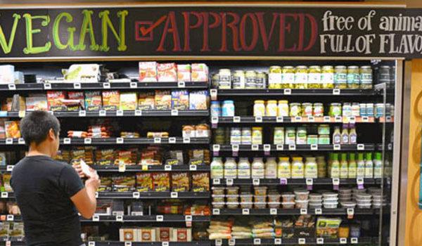 Prodotti vegani sul mercato 600x350 - Il veganismo tra idealismo animalista, salutismo, ambientalismo e …carne vegetale